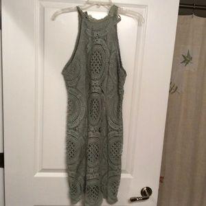 Charlotte Russe Razorback lace dress